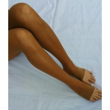 "OPEN TOE ""Sheer to Waist"" Calendar Girl Pantyhose"