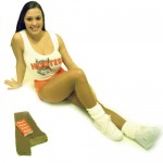 Footless Calendar Girl Pantyhose